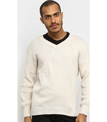 blusa tricot karian lisa manga longa masculina
