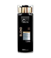 shampoo truss blond 300ml único