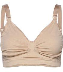 maternity & nursing bra with carri-gel support lingerie bras & tops maternity bras beige carriwell