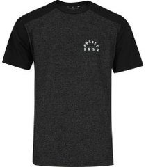camiseta o'neill especial steady - masculina - preto mescla