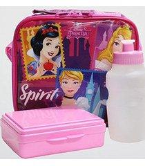 lancheira térmica infantil dermiwil soft princesas