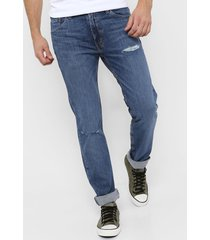 jean azul levi's  511 slim fit - mid dx