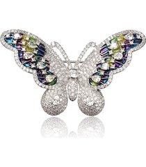 spilla dolce zircon butterfly
