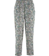 pantaloni cropped in jersey (verde) - bpc bonprix collection