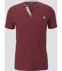 tom tailor t-shirt henley regular fit
