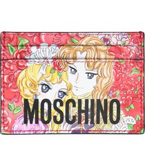 moschino card holder with georgie print