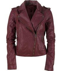 women leather jacket maroon color biker leather jacket for women,biker jacket