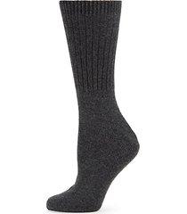 cashmere-blend crew socks
