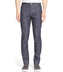 men's a.p.c. petit new standard skinny fit jeans
