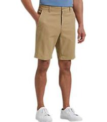 joseph abboud tan modern fit shorts