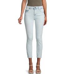 dl1961 women's florence insta sculpt mid-rise skinny jeans - blue - size 24 (0)