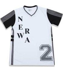 camiseta branded branco new era - masculino