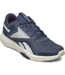 reebok flexagon force 2.0 shoes sport shoes training shoes- golf/tennis/fitness blå reebok performance
