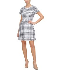 harper rose tweed sheath dress