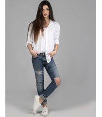 jeansy pakaru