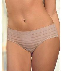 leonisa lace stripe hiphugger panty 012921