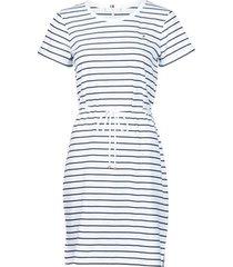 korte jurk tommy hilfiger th cool stp shift short dress ss