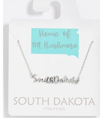 maurices womens dainty south dakota necklace gray