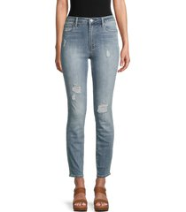 articles of society women's rene high-rise slim straight jeans - columbus - size 24 (0)