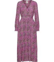 azia knälång klänning rosa baum und pferdgarten