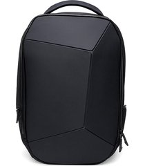 mochila de notebook impermeable-negro