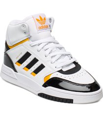 drop step w höga sneakers vit adidas originals