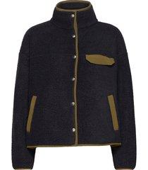 w cragmont flc jkt sweat-shirts & hoodies fleeces & midlayers blå the north face