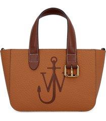 j.w. anderson mini belt leather tote