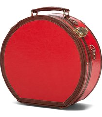 steamline luggage the entrepreneur small hatbox in red at nordstrom