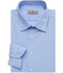 tonal plaid dress shirt