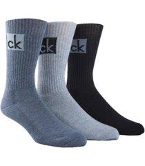 calvin klein men's 3-pk. logo socks
