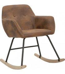 fotel bujany krzesło bujane denver