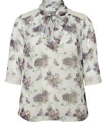 knytblus jrtabinda 3/4 sl blouse