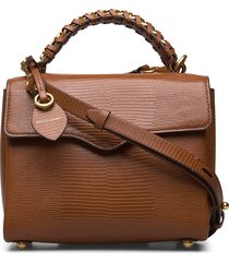 chain satchel bags top handle bags bruin rebecca minkoff