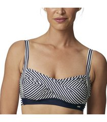 abecita brighton twisted soft bikini bra