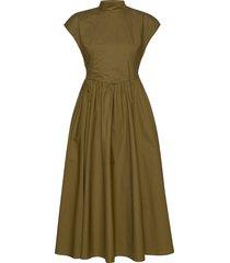 cassiagz midi dress ao20 knälång klänning grön gestuz