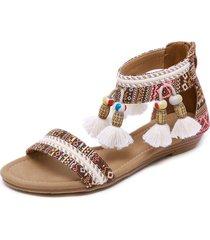 sandalias mujer sandalias romanas bohemias