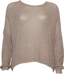 20 to dc19130 059 knitwear pullover lurex gold