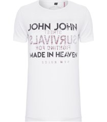 t-shirt masculina rx survivals - branco