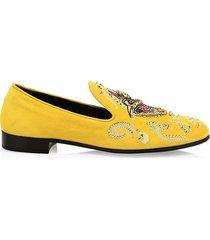 giuseppe zanotti men's giuseppe x swae lee dress slippers - pink - size 41 (8)
