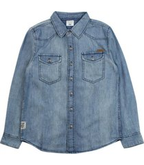 camisa just denim azul ficcus