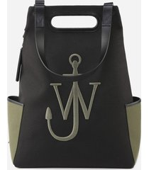 j.w. anderson backpack with embossed logo