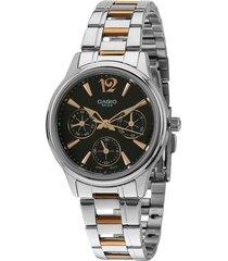 reloj casio kcasltp-2085rg-1a-multicolor
