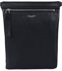 saint laurent sling logo shoulder bag