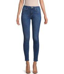 joe's jeans women's mid-rise ankle skinny jeans - blue - size 24 (0)