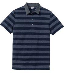 polo con colletto di jeans (blu) - john baner jeanswear
