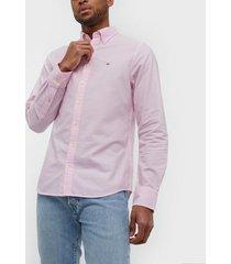 gant the oxford shirt slim bd skjortor light pink