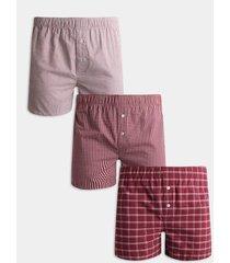 pantaloncillo pack x3 boxer amplio