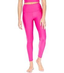 electric yoga women's basic leggings - hot pink - size m
