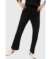 pantalón negro active